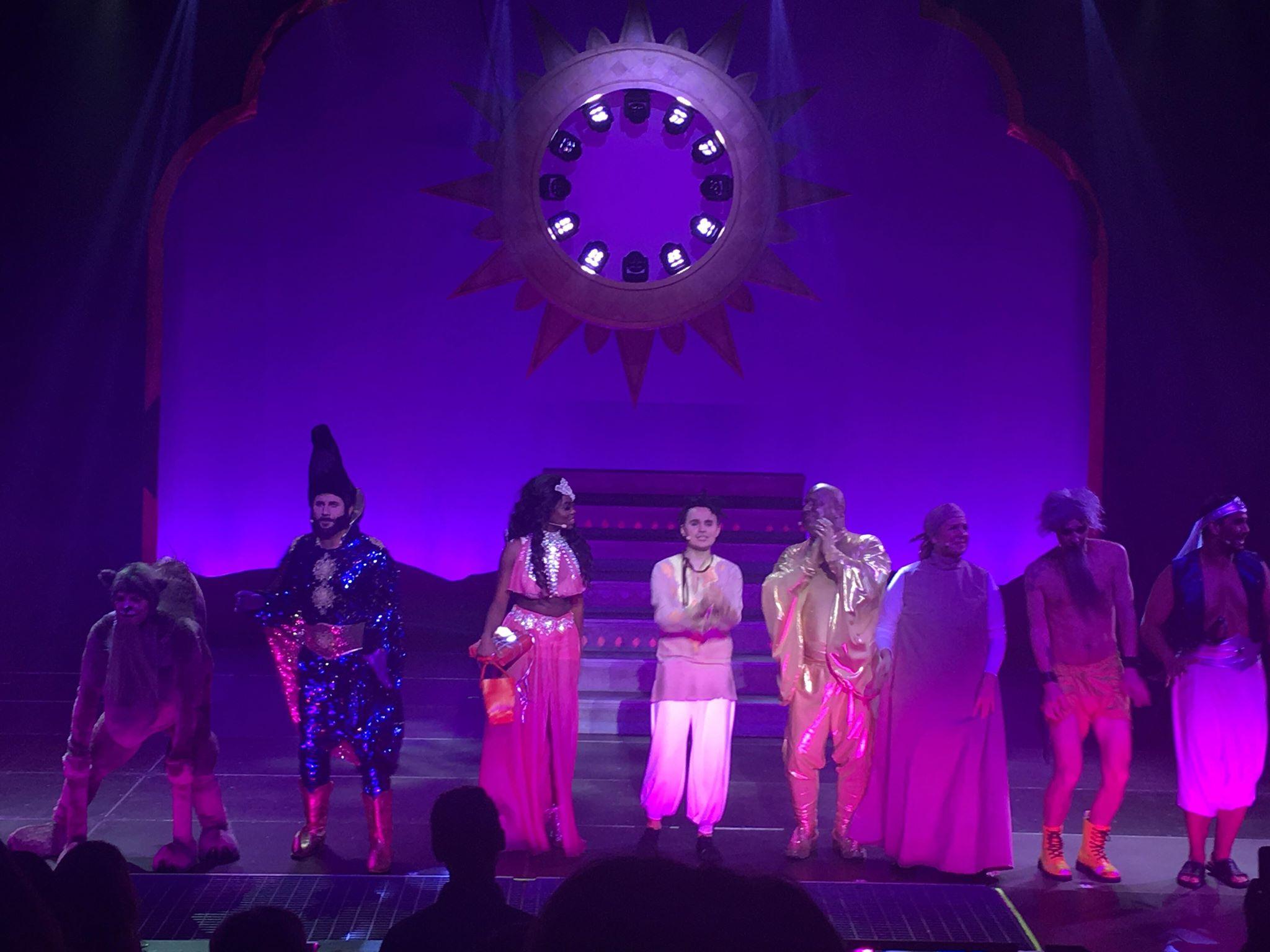Aladdins ande blir levande